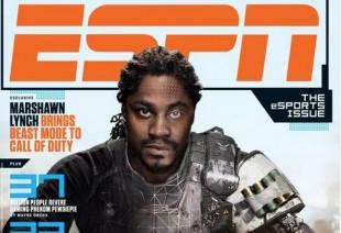 Marshawn Lynch to Appear on ESPN's eSports Magazine Cover